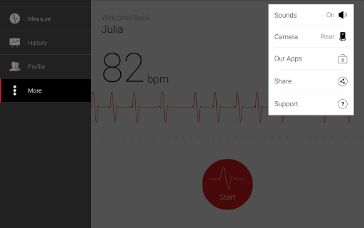 Cardiograph - Heart Rate Meter 4.1.3 Screenshots 14