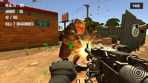 Monster Killing City Shooting II  screenshots 17