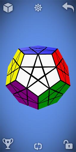 Magic Cube Puzzle 3D  screenshots 3