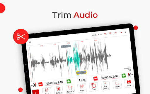ud83cudfb5Audio Editor Recorder & Ringtone Maker -AudioLab 1.1.4 Screenshots 9
