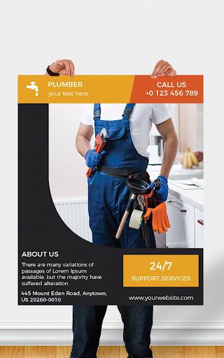 Flyers, Poster Maker, Graphic Design, Banner Maker 51.0 Screenshots 22
