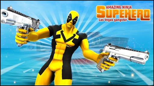 Real Ninja Superhero Las Vegas gangster Fight 1.0.1 screenshots 1