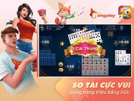 Poker VN - Mu1eadu Binh u2013 Binh Xu1eadp Xu00e1m - ZingPlay screenshots 12