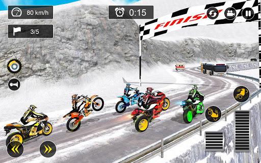 Snow Mountain Bike Racing 2019 - Motocross Race 2.0 screenshots 1