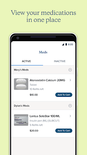 Alto Pharmacy screenshot for Android