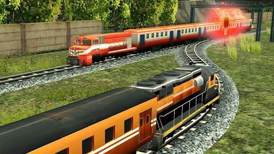 Train Racing Games 3D 2 Player MOD APK (Unlimited Money) 7