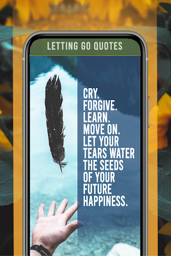 Letting Go Quotes 1.10 screenshots 2
