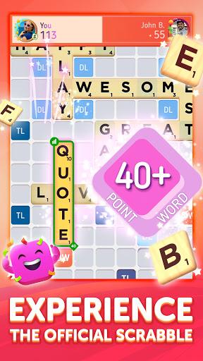 Scrabbleu00ae GO - New Word Game Apkfinish screenshots 2