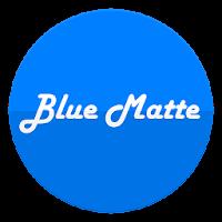 BLUE MATTE CM12/CM11 THEME