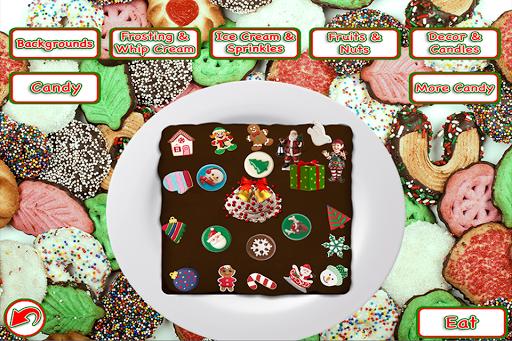 Christmas Cake Maker Bake & Make Food Cooking Game screenshots 2