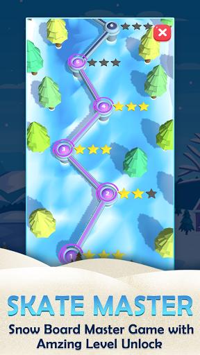 Skate Master Game: Snow Skateboard Master 3D APK MOD (Astuce) screenshots 2