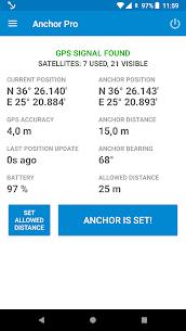 Anchor Watch Pro / Alarm 3