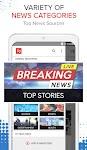 screenshot of News Home: Breaking News, Local & World News Today