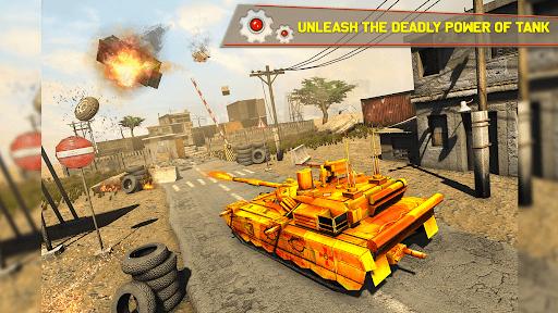 Tank Robot Car Games - Multi Robot Transformation screenshots 11