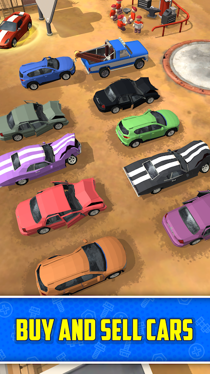Scrapyard Tycoon Idle Game poster 2