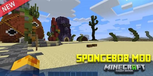 Sponge Bob Minecraft - Bikini Bottom MCPE Mods 1.0