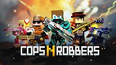 ピクセル シューティング: Cops N Robbers (FPS)のおすすめ画像1