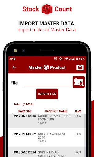 stock count (inventory scanner) stock take opname screenshot 2