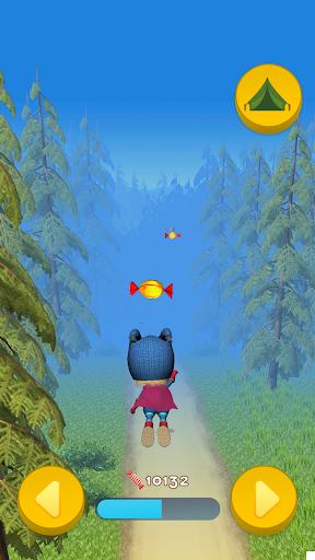 Masha and the Bear: Running Games for Kids 3D  screenshots 1