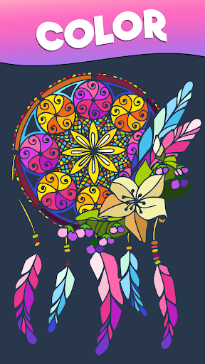 Color Stories - color journey, paint art gallery screenshots 1