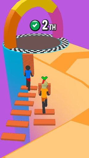 Stickman Fall | Running Stick Guys 3D Varies with device screenshots 1