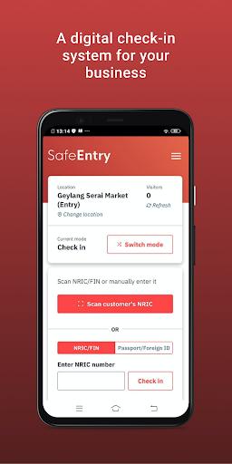 SafeEntry (Business)  Screenshots 1