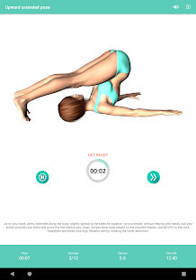 Yoga daily workout for flexibility and stretch