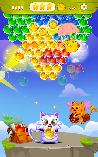 Bubble Shooter: Free Cat Pop Game 2019 1.22 screenshots 7