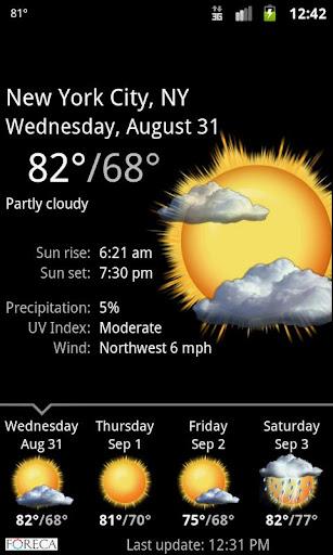 Palmary Weather  Screenshots 3