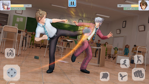 High School Bully Gang: Karate Fighting Game  screenshots 1