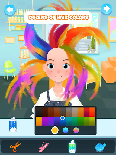 Hair salon games : Hair styles and Hairdresser apkdebit screenshots 5