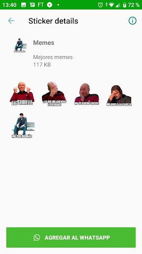 Memes con Frases Stickers en espau00f1ol para WhatsApp  Screenshots 7