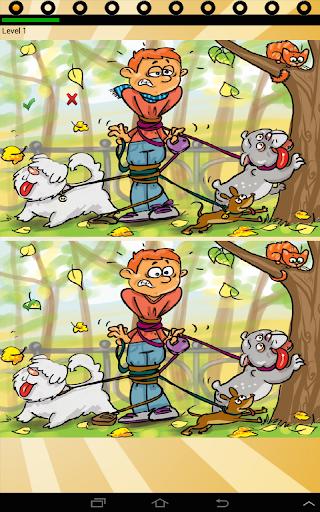 find ten differences animals screenshot 1