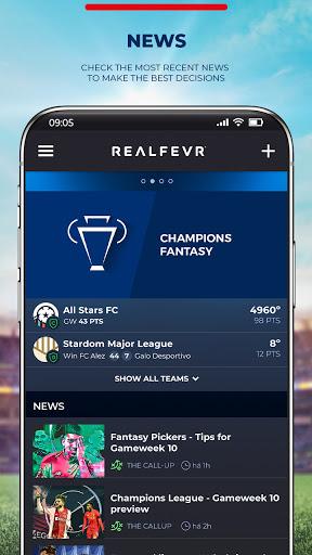 Foto do RealFevr - Fantasy Sports 2021