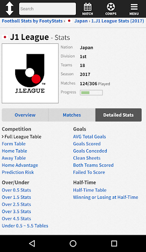 FootyStats - Soccer Stats for Betting 1.0 Screenshots 4