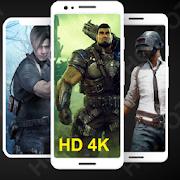 Wallpaper for Gamers HD 4K offline  Icon