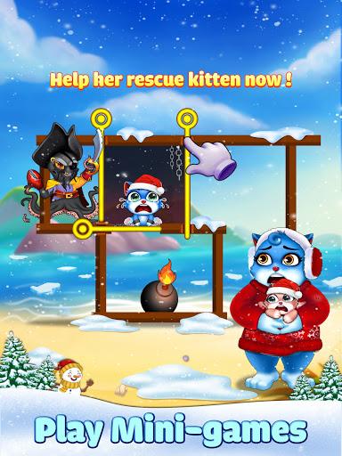 Cat Pop Island: Bubble Shooter Adventure Apkfinish screenshots 8