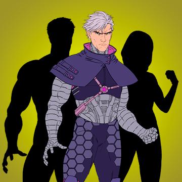 Captura de Pantalla 1 de Super Hero Generator para android