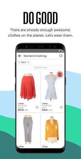 thredUP | Thrift & Sell Womenu2019s & Kidsu2019 Clothing modavailable screenshots 5