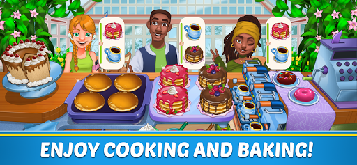 Food Country - Cooking, Renovate Story screenshot 1