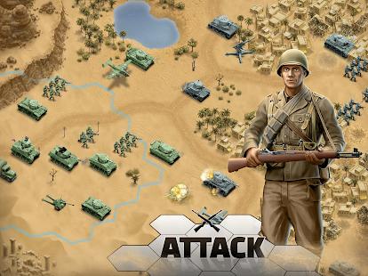 1943 Deadly Desert - a WW2 Strategy War Game screenshots 8