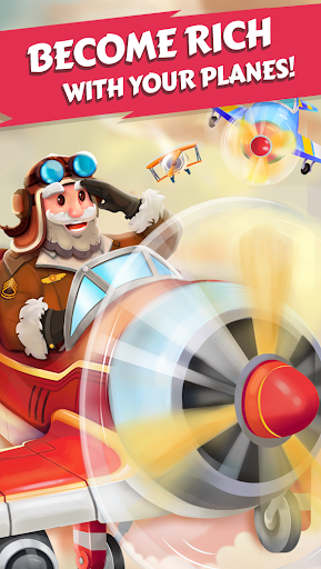 Merge Planes - Best Idle Relaxing Game  screenshots 1