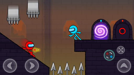 Red and Blue Stickman : Season 2 android2mod screenshots 3