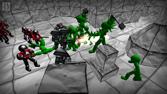 Battle Simulator: Stickman Zombie 1