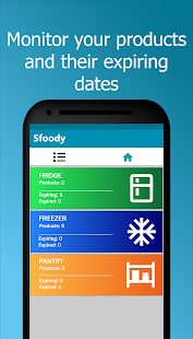 Sfoody - Shopping List and Pantry Manager
