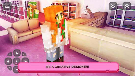 Girls Craft Story: Build & Craft Game For Girls screenshots 6