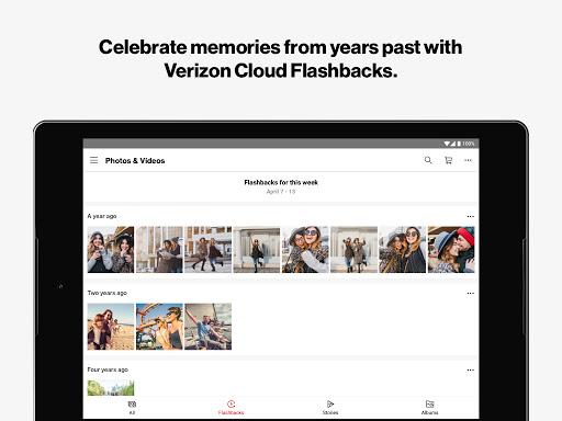 Foto do Verizon Cloud