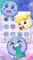 Fluff Ball Emoji Stickers