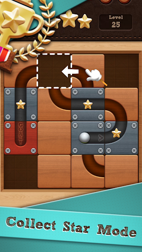 Roll the Ballu00ae - slide puzzle goodtube screenshots 1