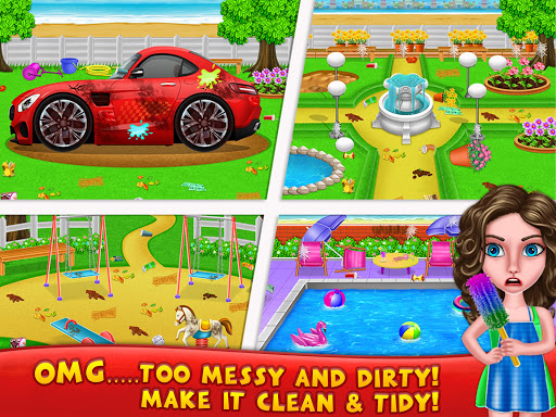 House Cleanup : Girl Home Cleaning Games 3.9.1 screenshots 15